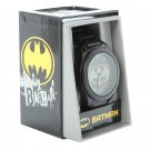 DC Comics Batman Logo Gun Metal Watch