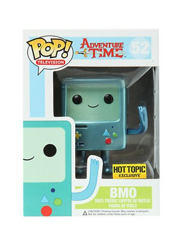 Funko Adventure Time Pop! Television Beemo (BMO) #52 Metallic Vinyl Figure