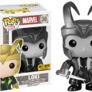 Funko Marvel Pop! #36 Loki Black & White Vinyl Bobble-Head Hot Topic Exclusive