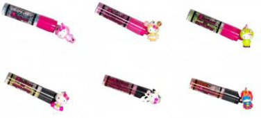 tokidoki x Hello Kitty Roll-On Lip Gloss - Complete Set of 6 - Reunion Collection