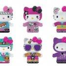 Complete Set of 6 - tokidoki x Hello Kitty Kimono Collectible Figure (See Description)