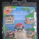 Disney Store Hawaii Exclusive Collection - Lilo & Stitch Hawaii Pin Set - Official Pin Trading