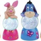 Complete Set of 4 | Disney Pooh, Piglet, Eeyore, & Tigger - Color Changing Mini 35mm Sparkler Globe