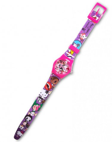 tokidoki x Hello Kitty Kimono Kids Analog Wrist Watch - Sakura