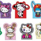 Complete Set of 9 - tokidoki x Sanrio Hello Kitty Sticky Notes Reunion Collection