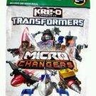 Complete Set of 12 - Kreo Transformers Kreon Micro-Changers Figure or Vehicle Blind Bags - Series 3