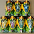 Power Rangers Legacy Mighty Morphin' Set of 7 – Red, Black, Blue, Yellow, Pink, Green, & White