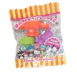 Sanrio Character Mascot Erasers Packs Assorted (x18)