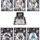 Complete Set of 6 - Limited Edition 2013 tokidoki x Sanrio Characters Mascot Charms (See Details)