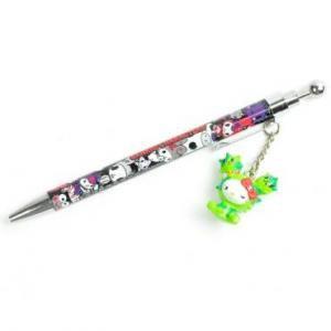 Limited Edition Retired tokidoki x Sanrio Characters Mascot Ballpoint Pen Hello Kitty x Cactus SANDy
