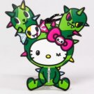 Limited Edition 2013 tokidoki x Sanrio Characters Luggage Tag - Hello Kitty x Cactus Friend (Sandy)