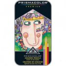 Prismacolor Premier Colored Pencil Set 24-piece Tin - Assorted by Sanford