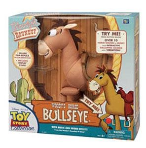 """Disney Pixar Signature Collection Toy Story 3 Woody's Horse 16"""" Bullseye by Thinkway Toys"""