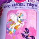 MLP | My Little Pony Canterlot Twin Micro Raschel Bedding Blanket