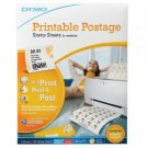 DYMO Endicia Printable Postage, 24 Stamps Per Sheet, Pack Of 8 Sheets (x3 Packs)