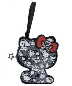 Limited Edition tokidoki x Hello Kitty Die-Cut Pouch: Black