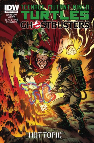TMNT | Teenage Mutant Ninja Turtle x Ghostbusters Comic #4 By IDW Publishing � Hot Topic Exclusive