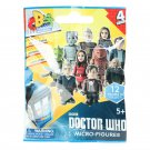 Character Building BBC Doctor Who Series 4 Micro Blind Bag Figure & Display Base (x21)