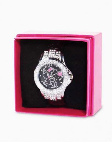 Retired tokidoki x Sanrio 2014 Hello Kitty & Unicorno Sakura Wrist Watch Kimono Collection