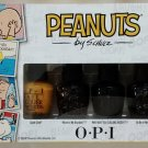 OPI Nail Polish Lacquer Little Peanuts by Schulz Mini Collection Set