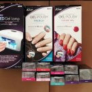 Lot of 12 Kiss everlasting Gel Polish LED Lamp, Started Kits, x7 Gel Colors, + more (See Details)