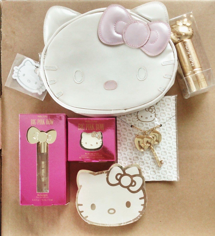 Sephorax Sanrio Hello Kitty Set / Lot of 6 LE Cosmetic Case, Bronzer, Kabuki Brush + more...