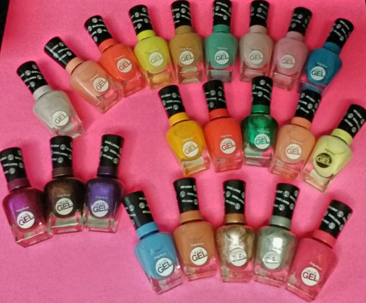 MIRACLE GEL 2-STEP GEL MANICURE - Assorted Colors - No Light Required
