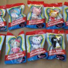 Complete Set of 10 Sanrio Characters Hello Kitty Masquerade Collectible Mini Charm Figures