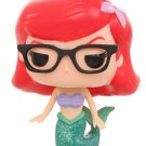 FUNKO Disney POP! Little Mermaid Hipster Nerdy Ariel w/ Glasses Vinyl Figure Hot Topic Exclusive