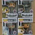 Set of 4 FUNKO POP! Video Games Call of Duty Vinyl Figures GameStop Exclusive