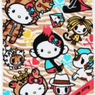 Limited Edition tokidoki x Sanrio Hello Kitty XL Beach Towel: Summer Safari Collection