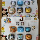 Set of 2 - Disney Tsum Tsum 9 Pack Stackable Figures Series 1 by Jakks Pacific totaling 18
