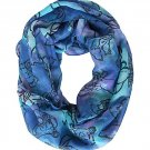 Disney Lilo & Stitch Tossed Poses Tie Dye Stitch Infinity Scarf