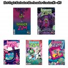 Oni Press Invader Zim Comic Issue #1 - #5 - Hot Topic Exclusive Variant Cover