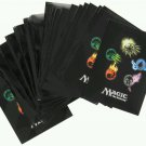 Lot of 5 - Ultra Pro MTG | Magic the Gathering Mana 4 Symbols Standard 80 Deck Protector Sleeves
