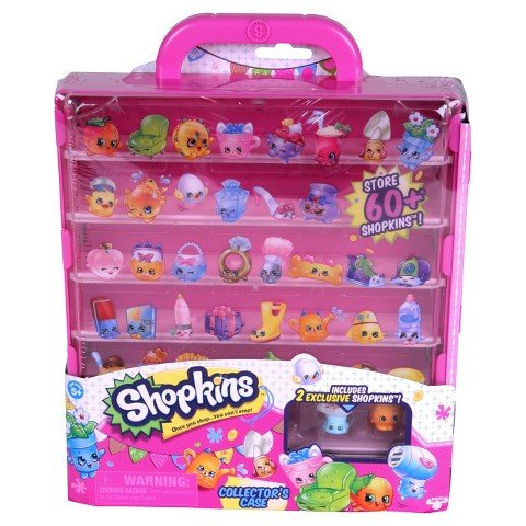 Shopkins Season 3 Pink Collectors Case with 2 Exclusive Characters by Moose Toys