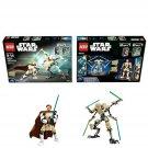 LEGO Star Wars Buildable Figures 2in1 Battle Pack Obi-Wan Kenobi & General Grievous #66535 - 269 Pcs