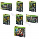 Complete Set of 7 Teenage Mutant Ninja Turtles | TMNT Mega Bloks Metal Classic Collectors Series