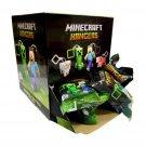 "Jinx Minecraft Hangers 3"" Figure MysteryBlind Bag Series 1 Case of x24 Sealed Packs"