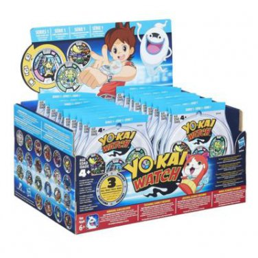 YoKai Yo-Kai Watch Season 1 Medal Mystery Blind Bag Case of �24 Sealed Packs