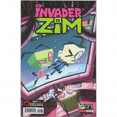 Invader Zim by Oni Press Comic #1 Gamestop Powerup Rewards Exclusive Variant Edition CGC 7.5