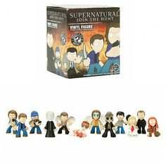 Lot of 13 Hot Topic Exclusive FUNKO Supernatural Mystery Minis Blind Box Vinyl Figures (See Details)
