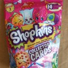 Shopkins Season 3 - 14 Collector Cards + Shopkins Figure Blind Bag Assorted ×15 Sealed Packs