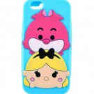 Loungefly Disney Tsum Tsum Alice in Wonderland Alice & Cheshire Cat iPhone 6/6s Case