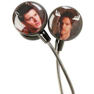Supernatural Moose & Squirrel Earbuds Earphones In-Ear Headphones