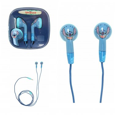Disney Lilo & Stitch Face Earbuds Earphones In-Ear Headphones