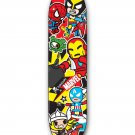 Retired Limited Edition tokidoki × Marvel Allstars 2 Skate Deck Skateboard