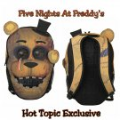 Five Nights At Freddy's FNAF Freddy Fazbear Face Backpack by Bioworld - Hot Topic Exclusive