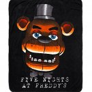 "Five Nights At Freddy's Freddy Fazbear's Face 44""×50"" Throw Blanket"