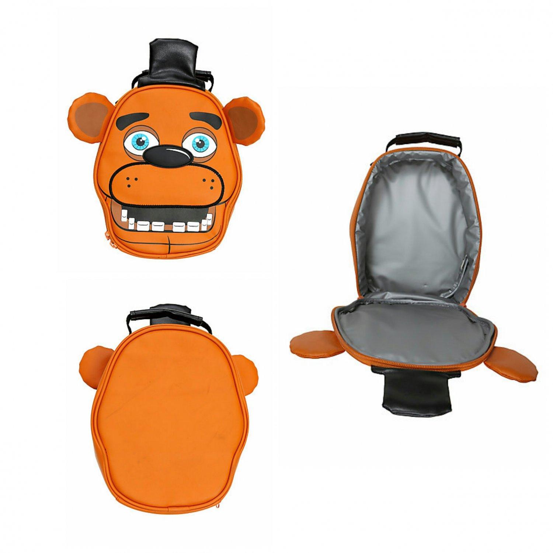 Five Nights At Freddy's Freddy Fazbear Insulated Lunch Box Cooler Bag